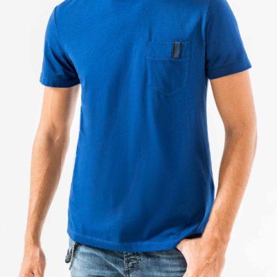 Antony Morato T-shirt met Borstzak blauw