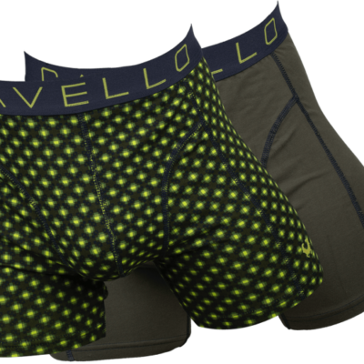 Cavello Underwear Green and Yellow