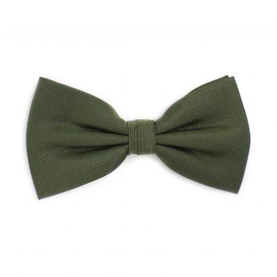 Tresanti Klasiek Geribde Vlinderdas groen