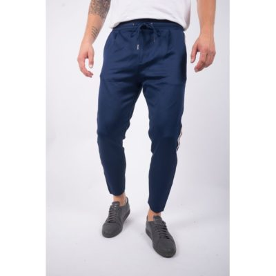 Just junkies cion main tape pants blauw