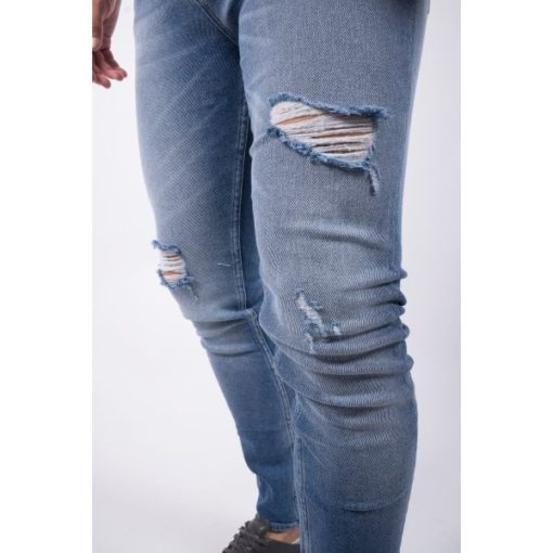 Just Junkies Slim fit jeans destroyed
