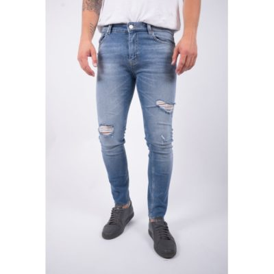 Just Junkies Slim fit jeans destroyed