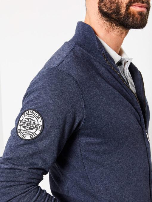 petrol industries vest blauw met logo