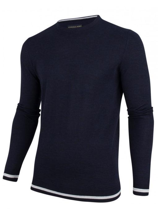 Cavallaro napoli pullover blauw