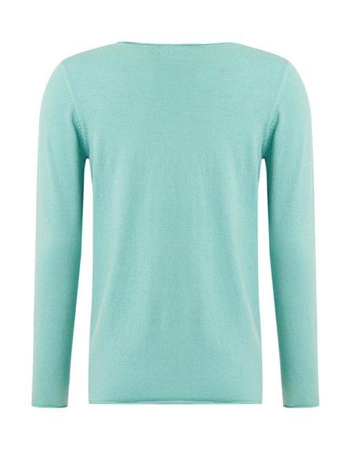Purewhite knitted long sleeve groen
