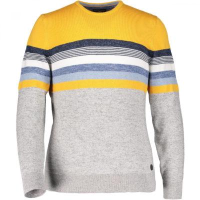 state of art trui geel grijs