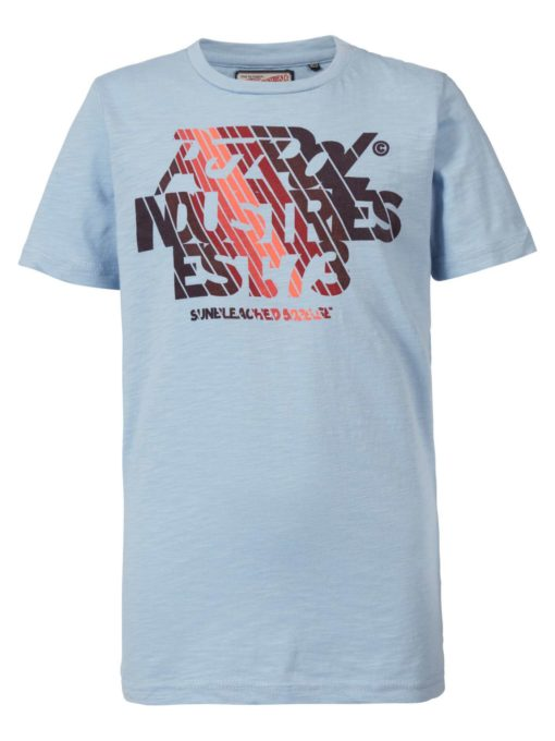 Petrol industries T-shirt turquoise