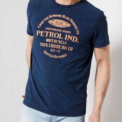 Petrol Idustries T-shirt blauw