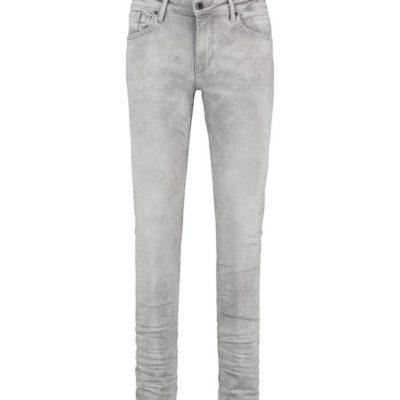 purewhite skinny jeans grijs
