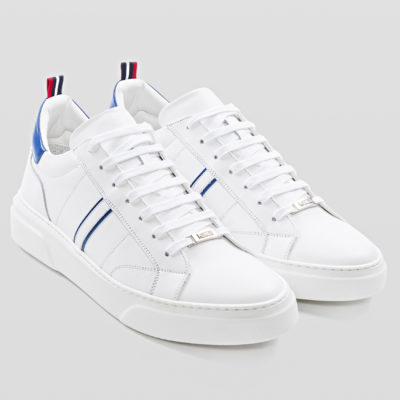 "ANOTONY MORATO LOW-TOP SNEAKER ""MINIMAL"" IN NAPPA LEATHER"