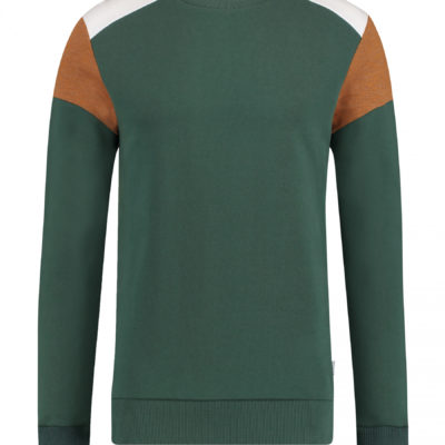 kultivate sweater groen
