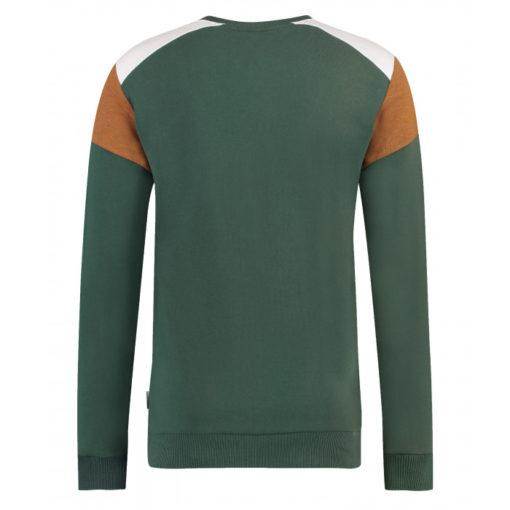 kultivate sweater groen