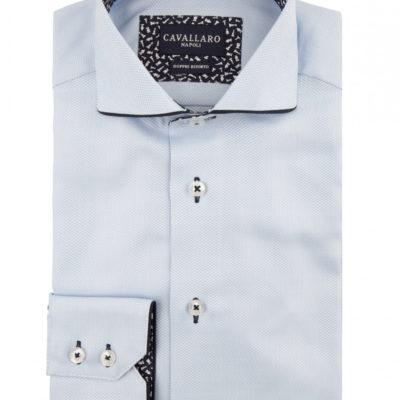 Cavallaro napoli overhemd lichtblauw