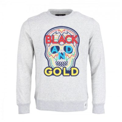 Black & Golde sweater grijs