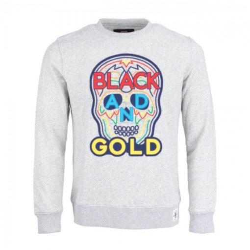 Black & Golde sweater grijs