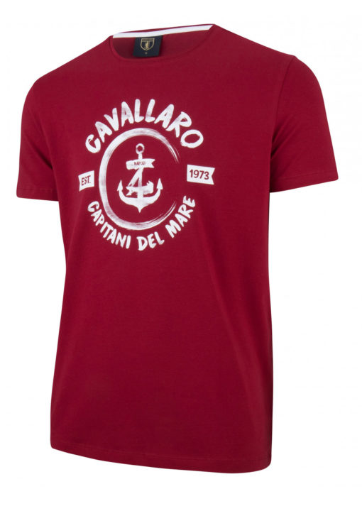 Cavallaro napoli t-shirt rood