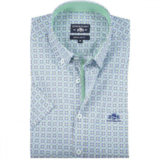 state of art overhemd groen