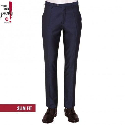 club of gents pantalon donkerblauw