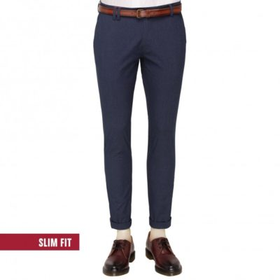 Club of gents pantalon blauw