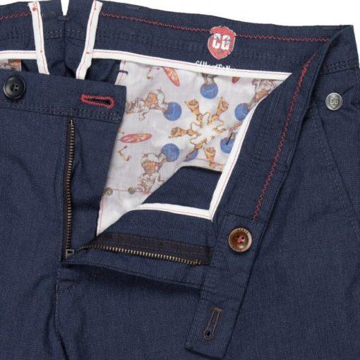 club of gents pantalon blauw