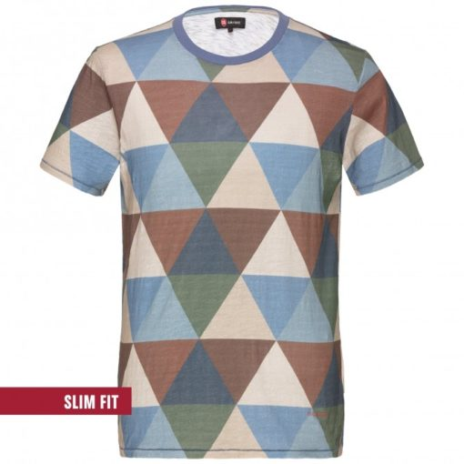 Club of gents t-shirt bruin