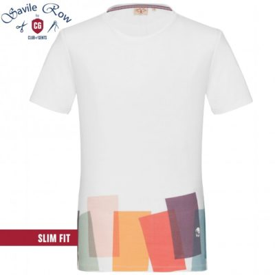 Club of gents t-shirt wit