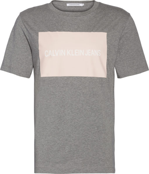Calvin Klein t-shirt grijs roze