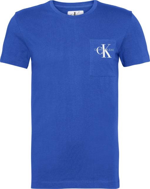 calvin klein t-shirt blauw