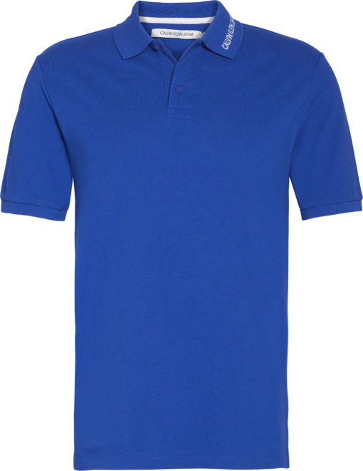 Calvin klein polo blauw