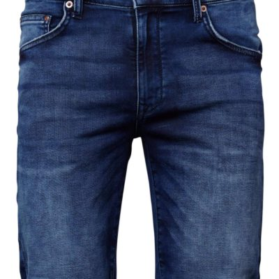 Petrol industries denim shorts blauw