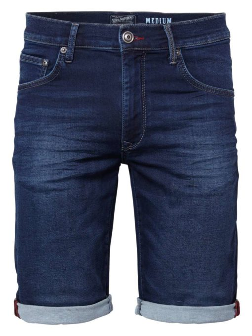 Petrol industries Denim shorts blauw