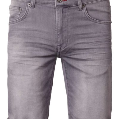 petrol industrie denim shorts grijs