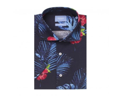 Tresanti overhemd met korte mouw