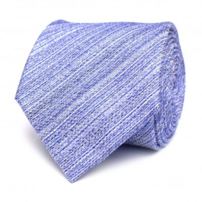 tresanti zijde stropdas blauw