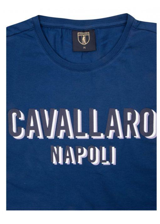 Cavallaro napoli t-shirt blauw