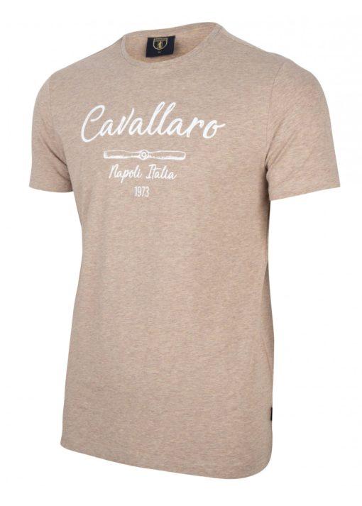 Cavallaro napoli t-shirt bruin.