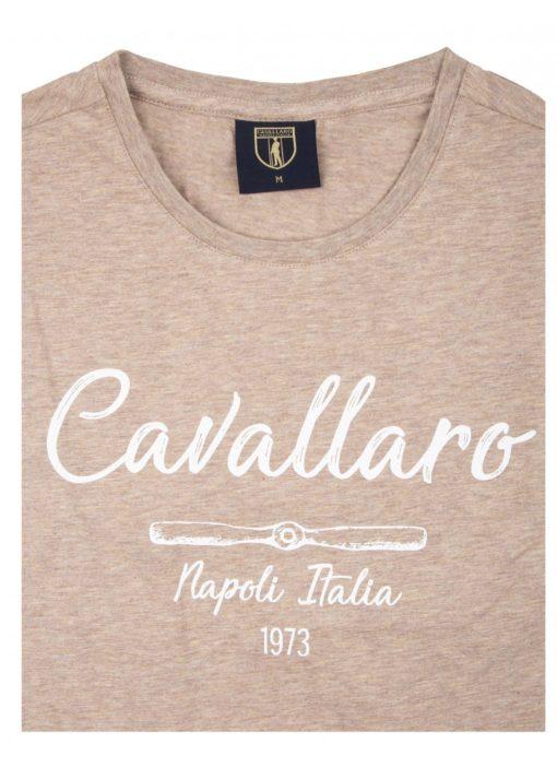 Cavallaro Napoli T-shirt bruin