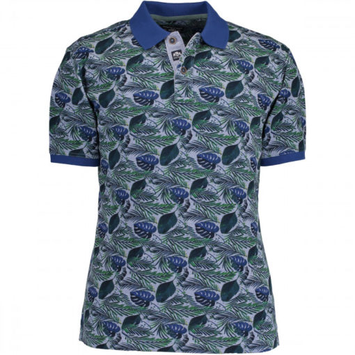 state of art polo groen blauw