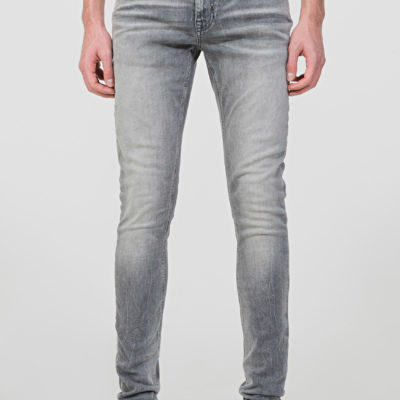 "ANTONY MORATO TAPERED USED-EFFECT FLAG ""OZZY"" JEANS"