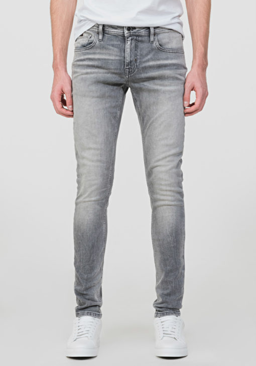 """ANTONY MORATO TAPERED USED-EFFECT FLAG """"OZZY"""" JEANS"""