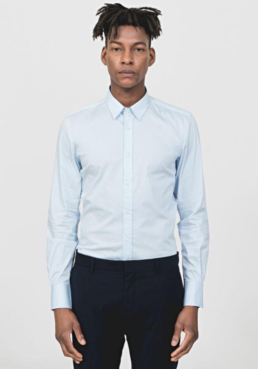 ANTONY MORATO Super slim-fit overhemd Licht Blauw