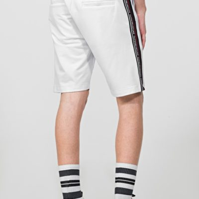 ANTONY MORATO FLEECE SHORTS WITH LOGOED BAND DETAIL