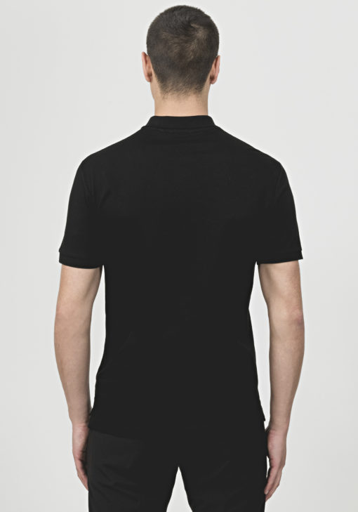 ANTONY MORATO COTTON POLO SHIRT WITH PATCH DETAIL