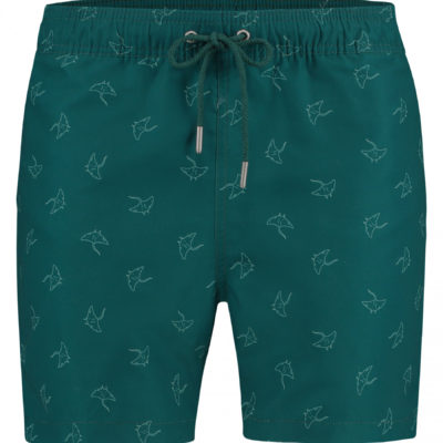 kultivate swimshorts groen