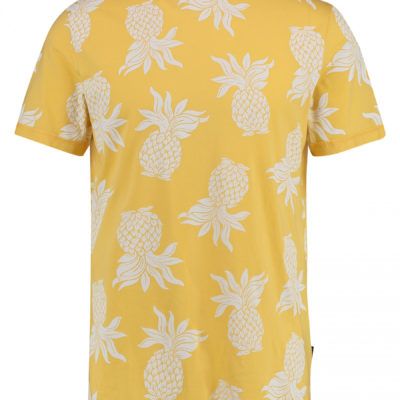Kultivate t-shirt geel