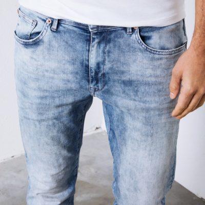 Petrol Industries Seaham vtg bleached jeans