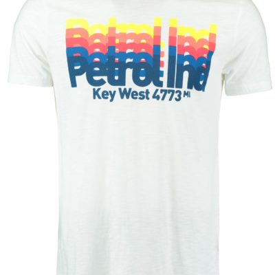 Petrol t-shirt wit