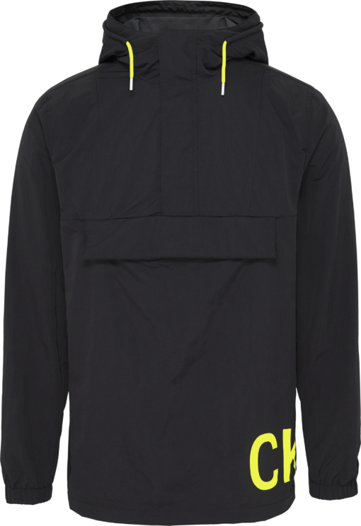 Calvin Klein Anorak met Nylon Logo black