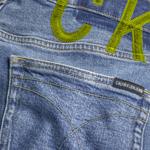 Calvin Klein Slim Denim Korte Broek