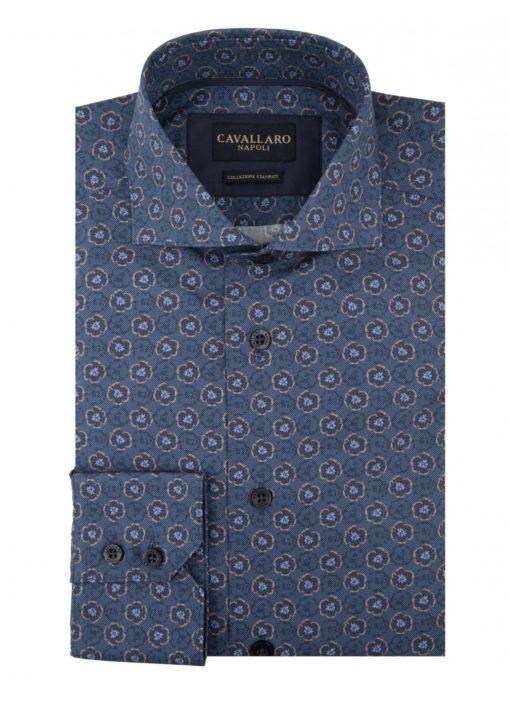 CAVALLARO NAPOLI Chryso Shirt Blauw